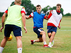 Harvey Smith and James Morton in action as Bristol City Under 23s return for a second day of training ahead of their 2017/18 Season - Rogan/JMP - 01/07/2017 - Failand Training Ground - Bristol, England.