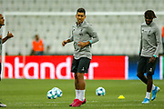 Liverpool striker Roberto Firmino (9) during the Liverpool Training session ahead of the 2019 UEFA Super Cup Final between Liverpool FC and Chelsea FC at BJK Vodafone Park, Istanbul, Turkey on 13 August 2019.