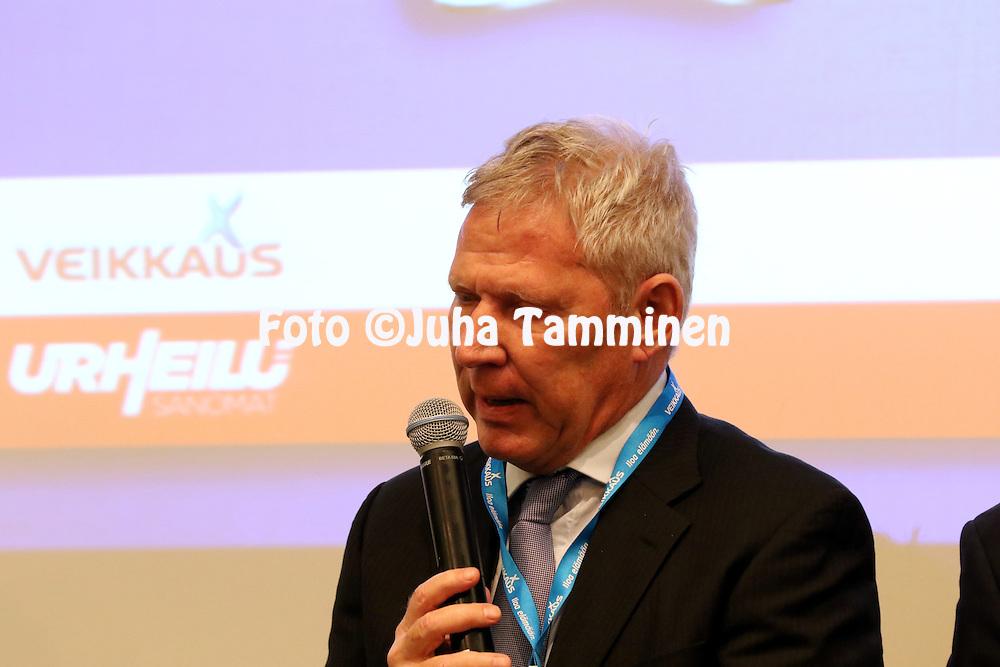 1.4.2015, Helsinki. <br /> Veikkausliigan 2015 Media-avaus.<br /> Valmentaja job Dragtsma - Inter