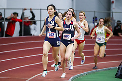 ECAC/IC4A Track and Field Indoor Championships<br /> Mile Run, Jocelyn Chau, Yale