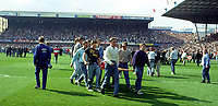 Fotball<br /> England<br /> Foto: Fotosports/Digitalsport<br /> NORWAY ONLY<br /> <br /> The Tragic FA Cup Semi Final between Liverpool and Nottingham Forest where Sadly 96 Liverpool fans lost their lives because of Overcrowding at the Hillsborough Stadium Sheffield 15th April 1989