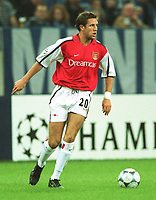 Fotball: Matthew Upson, Arsenal<br /><br />Foto: Uwe Speck, Digitalsport
