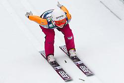 Spela Rogelj of Slovenia during Normal Hill Individual Competition at FIS World Cup Ski jumping Ladies Ljubno 2012, on February 11, 2012 in Ljubno ob Savinji, Slovenia. (Photo By Vid Ponikvar / Sportida.com)