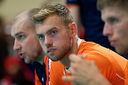 21-09-2019 NED: EC Volleyball 2019 Netherlands - Germany, Apeldoorn<br /> 1/8 final EC Volleyball / Gijs Jorna #7 of Netherlands