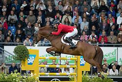 Beerbaum Ludger, (GER), Casello<br /> Nations Cup<br /> Mercedes-Benz Nationenpreis<br /> CHIO Aachen 2016<br /> © Hippo Foto - Dirk Caremans<br /> 14/07/16