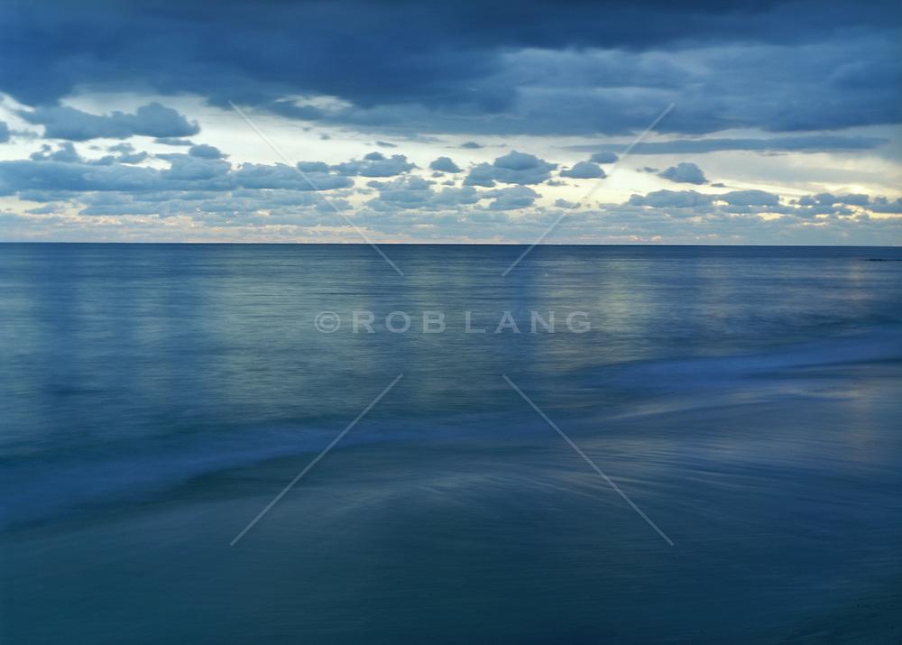 Hamptons Dusk at the Ocean