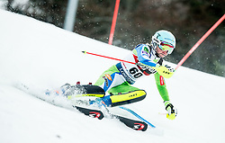 "Meta Hrovat (SLO) competes during 1st Run of FIS Alpine Ski World Cup 2017/18 Ladies' Slalom race named ""Snow Queen Trophy 2018"", on January 3, 2018 in Course Crveni Spust at Sljeme hill, Zagreb, Croatia. Photo by Vid Ponikvar / Sportida"