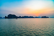 Sunrise, Halong Bay, Vietnam, Asia