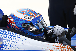April 13, 2018 - Long Beach, California, United States of America - April 13, 2018 - Long Beach, California, USA: Scott Dixon (9) hangs out on pit road during practice for the Toyota Grand Prix of Long Beach at Streets of Long Beach in Long Beach, California. (Credit Image: © Justin R. Noe Asp Inc/ASP via ZUMA Wire)
