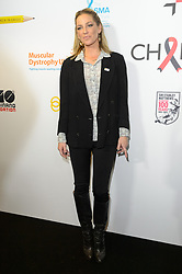 © Licensed to London News Pictures. 11/09/2017. SARAH HARDING takes part in the on the annual BGC Partners Charity Day in commemoration of its 658 friends and colleagues and 61 Eurobroker employees lost in the World Trade Center attacks on 9/11. PIcture Credit: Tang/LNP