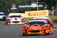 Graham Johnson (GBR) / Mike Robinson (GBR)  #50 PMW Expo Racing/Optimum Motorsport  Ginetta G55 GT3  Ford Cyclone 3.7L V6  British GT Championship at Oulton Park, Little Budworth, Cheshire, United Kingdom. May 30 2016. World Copyright Peter Taylor/PSP. Copy of publication required for printed pictures.  Every used picture is fee-liable. http://archive.petertaylor-photographic.co.uk