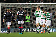 Celtic's Nir Bitton celebrates his goal - Celtic v Dundee in the Ladbrokes Scottish Premiership at Celtic Park, Glasgow. Photo: David Young<br /> <br />  - © David Young - www.davidyoungphoto.co.uk - email: davidyoungphoto@gmail.com