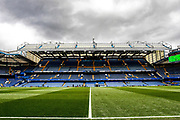 General stadium view inside Stamford Bridge before the Premier League match between Chelsea and Wolverhampton Wanderers at Stamford Bridge, London, England on 10 March 2019.