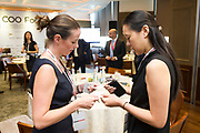 Coffee & Networking Break during the COO Forum on 13 October 2017 in the American Club, Hong Kong. Photo by Lucas Schifres/Studio EAST