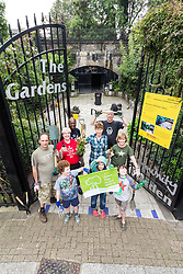 The Gardens' Community Garden, London Borough of Haringey, recipient of The Community Green Flag which recognises high quality green spaces managed by voluntary and community groups. London UK 2014