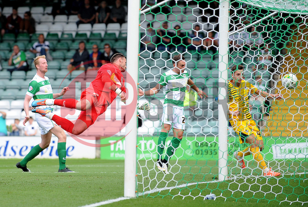 - Mandatory byline: Neil Brookman/JMP - 07966386802 - 15/08/2015 - FOOTBALL - Huish Park -Yeovil,England - Yeovi Town v Bristol Rovers - Sky Bet League One