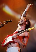 Neil of Biffy Clyro performs live on stage at Wembley Arena on December 4, 2010 in London, England.  (Photo by Simone Joyner)