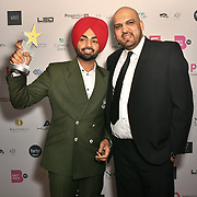 Jordan Sandhu receive an award at the BritAsiaTV Presents Kuflink Punjabi Film Awards 2019 at Grosvenor House, Park Lane, London,United Kingdom. 30 March 2019
