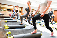 Bootcamp Pilates at Bluebird, Kings Road, London on Saturday January 16, 2016. Picture by Dan Law/danlawphotography.com