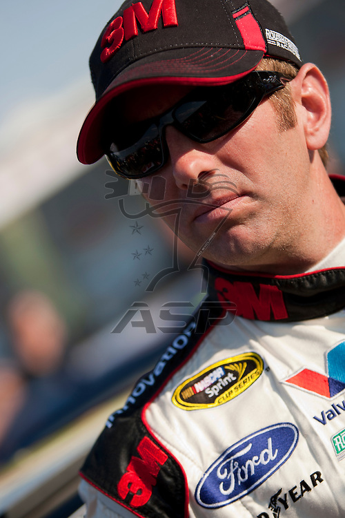 CONCORD, NC - MAY 20, 2011:  Greg Biffle prepares to take to the track for the All-Star Race qualifying session at the Charlotte Motor Speedway in Concord, NC.