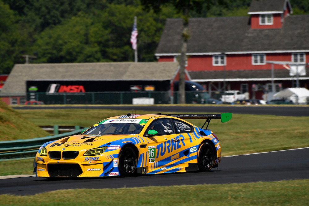 26-28 August, 2016, Alton, Virginia USA<br /> 96, BMW, M6 GT3, GTD, Bret Curtis, Jens Klingmann<br /> &copy;2016, Scott R LePage <br /> LAT Photo USA