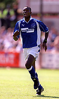 Alex Nyarko (Everton) Exeter City v Everton, Pre-Season Friendly, 5/08/2000. Credit: Colorsport / Matthew Impey