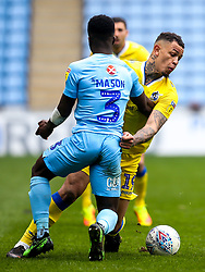 Jonson Clarke-Harris of Bristol Rovers takes on Brandon Mason of Coventry City - Mandatory by-line: Robbie Stephenson/JMP - 07/04/2019 - FOOTBALL - Ricoh Arena - Coventry, England - Coventry City v Bristol Rovers - Sky Bet League One