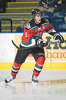 KELOWNA, CANADA, NOVEMBER 9: Colton Sissons #15 of the Kelowna Rockets skates on the ice as the Red Deer Rebels visit the Kelowna Rockets  on November 9, 2011 at Prospera Place in Kelowna, British Columbia, Canada (Photo by Marissa Baecker/Shoot the Breeze) *** Local Caption ***