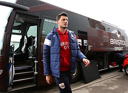 Milan Djuric of Bristol City arrives at Barnsley - Mandatory by-line: Robbie Stephenson/JMP - 30/03/2018 - FOOTBALL - Oakwell Stadium - Barnsley, England - Barnsley v Bristol City - Sky Bet Championship