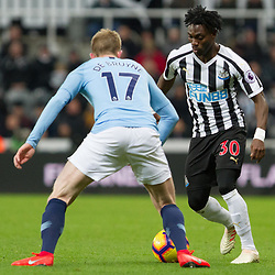 Newcastle United v Manchester City, Premier League, 29 January 2019