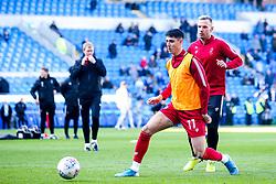 Callum O'Dowda of Bristol City and Andi Weimann of Bristol City warm up - Mandatory by-line: Robbie Stephenson/JMP - 10/11/2019 -  FOOTBALL - Cardiff City Stadium - Cardiff, Wales -  Cardiff City v Bristol City - Sky Bet Championship