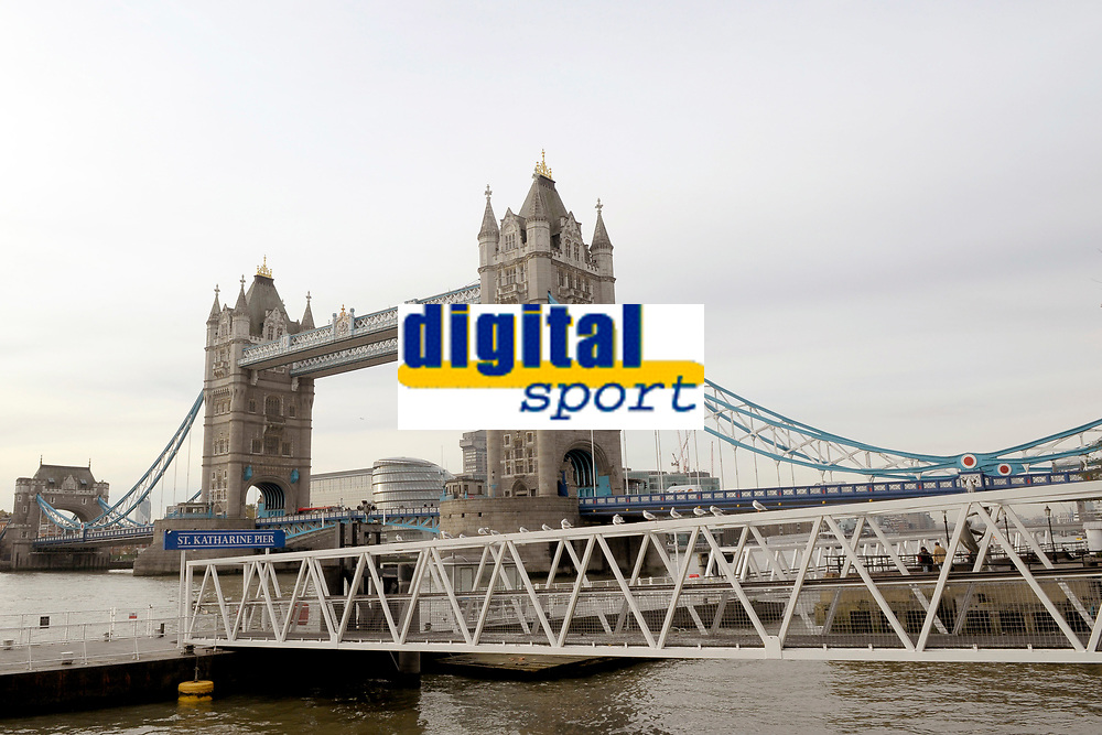 OLYMPIC GAMES - LONDON 2012 VENUES - LONDON (GBR) - 23/11/2011 - PHOTO : GREGORY LENORMAND / DPPI - TOWER BRIDGE