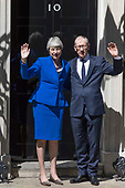Theresa May departs