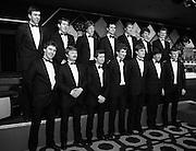 "Bank Of Ireland GAA Hurling Allstars 1986 31.01.1986..01.31.1986..31st January 1986..To celebrate their achievements on the field of hurling the following players were recognised by the GAA and Bank of Ireland:.Pat Delaney,Offaly.Seamus Coen, Galway.Sylvie Linnane,Galway.Ger Coughlan,Offaly.Liam Fennelly,Kilkenny.Nicholas English,Tipperary.John Fenton,Cork.Pat Cleary,Offaly.Ger Cunningham,Cork.Padraig Horan,Offaly.Joe Cooney,Galway.Brendan Lynsky,Galway.Eugene Coughlan,Offaly.Pat Critchly,Laois.Peter Finnerty,Offaly...Inducted into the Hall of Fame were Tim Landers and John Joe Landers for football and Frank O'Rourke for hurling..The award ceremony was held at The Burlington Hotel,Dublin...Photograph of the ""Allstars"" as the line up for the media..L-R front row:.Seamus Coen, Galway.Sylvie Linnane,Galway.Ger Coughlan,Offaly.Liam Fennelly,Kilkenny.Nicholas English,Tipperary.John Fenton,Cork.Pat Cleary,Offaly.L-R back row:.Ger Cunningham,Cork.Padraig Horan,Offaly.Joe Cooney,Galway.Brendan Lynsky,Galway.Eugene Coughlan,Offaly.Pat Critchly,Laois.Peter Finnerty,Offaly..."