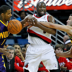 02-10-2012 Portland Trail Blazers at New Orleans Hornets