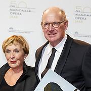 NLD/Amsterdam20151106 - Nationaal Opera Gala 2015, Philip Freriks en partner Lily