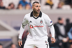 Ricardo Andrade Quaresma Bernardo of Besiktas JK during the UEFA Europa League group I match between between Besiktas AS and Malmo FF at the Besiktas Park on December 13, 2018 in Istanbul, Turkey