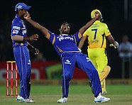 CLT20 2013 1st Semi Final - Rajasthan Royals v Chennai Super Kings