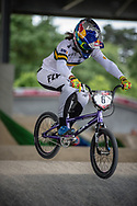 #6 (SAKAKIBARA Saya) AUS at Round 6 of the 2019 UCI BMX Supercross World Cup in Saint-Quentin-En-Yvelines, France