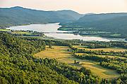 Lake Champlain and Helen Buckner Preserve, West Haven, Vermont.