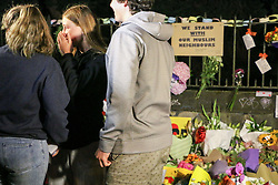 March 17, 2019 - Christchurch, Canterbury, New Zealand - People seen crying while paying respect to the victims of the Christchurch mosques shooting. Around 50 people has been reportedly killed a terrorist attack onn two Christchurch mosques. (Credit Image: © Adam Bradley/SOPA Images via ZUMA Wire)