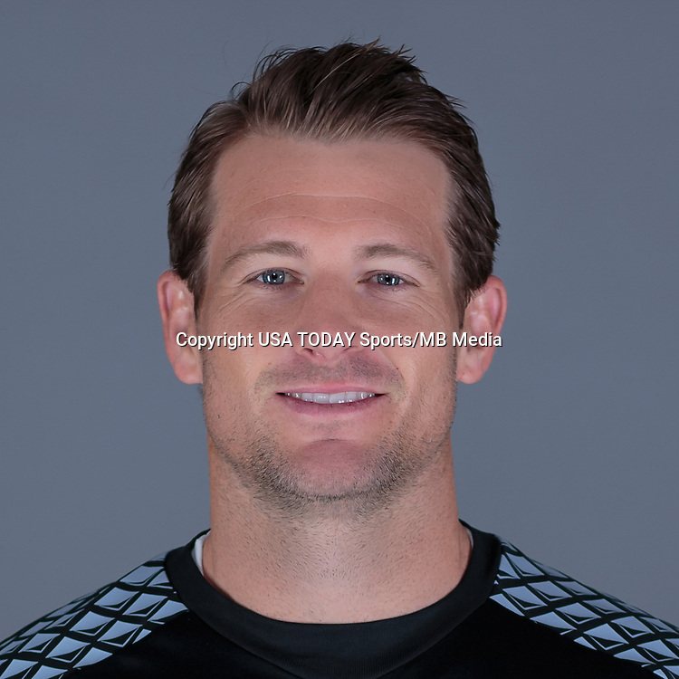Feb 25, 2016; USA; LA Galaxy player Dan Kennedy poses for a photo. Mandatory Credit: USA TODAY Sports