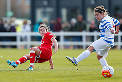 Jodie Brett of Bristol City Women - Mandatory byline: Rogan Thomson/JMP - 14/02/2016 - FOOTBALL - Stoke Gifford Stadium - Bristol, England - Bristol City Women v Queens Park Rangers Ladies - SSE Women's FA Cup Third Round Proper.