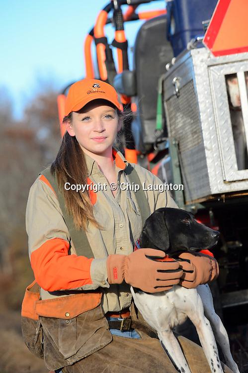 quail hunting stock photo image