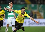 FUSSBALL DFB POKAL 2011/2012 HALBFINALE, SpVgg Greuther Fürth - Borussia Dortmund