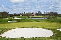 ALKMAA - Golfbaan Sluispolder, hole 4 par 3.  FOTO KOEN SUYK