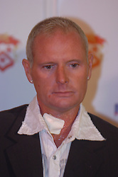 Paul Gascoigne, Gazza, signs as New Kettering Town Manager at Rockingham Road 27th October 2005Paul Gascoigne, Gazza, signs as New Kettering Town Manager at Rockingham Road 27th October 2005