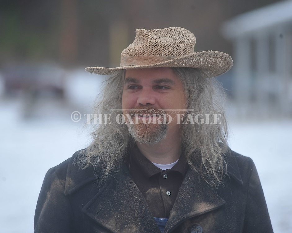 Extra Peter Pinnow at filming of The Hanging of Big Todd Wade in Oxford, Miss., on Saturday, January 15, 2011.