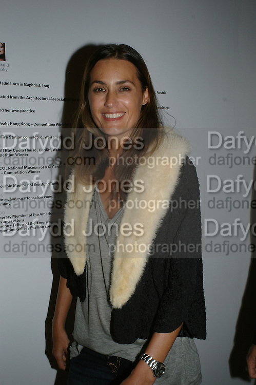 YASMIN  LE BON, 10 Years in Fashion, private view. Design Museum. shad thames. London. 16 October 2007. -DO NOT ARCHIVE-© Copyright Photograph by Dafydd Jones. 248 Clapham Rd. London SW9 0PZ. Tel 0207 820 0771. www.dafjones.com.