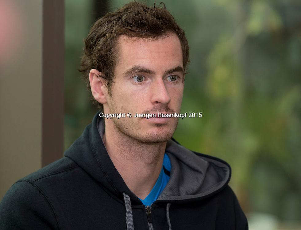 Andy Murray (GBR)<br /> <br /> Tennis - Dubai Duty Free Tennis Championships - ATP -   - Dubai -  - United Arab Emirates  - 22 February 2015. <br /> &copy; Juergen Hasenkopf